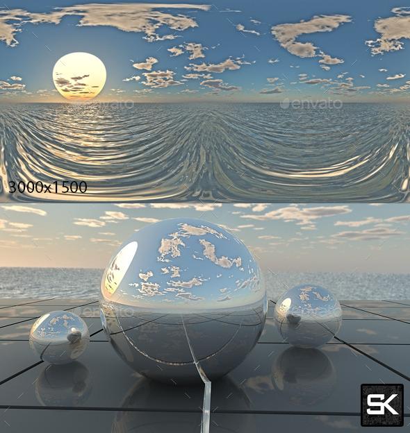 Sunrise On The Sea - 3DOcean Item for Sale