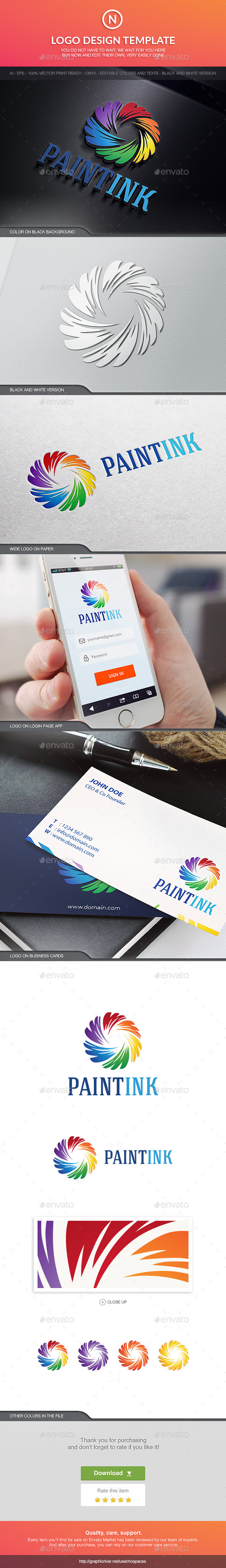 GraphicRiver Paint Ink 10598638