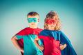 Superhero kids - PhotoDune Item for Sale