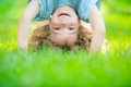 Child standing upside down - PhotoDune Item for Sale