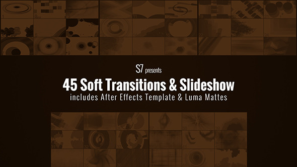 VideoHive 45 Soft Transitions & Slideshow 10598743