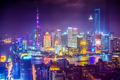 Shanghai China cityscape at Night - PhotoDune Item for Sale
