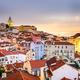 Alfama, Lisbon, Portugal Cityscape - PhotoDune Item for Sale