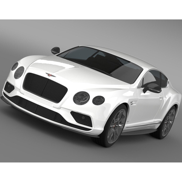 Bentley Continental GT V8 S 2015 - 3DOcean Item for Sale
