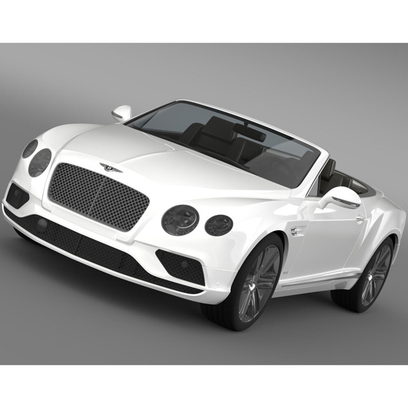 Bentley Continental GTC 2015 - 3DOcean Item for Sale