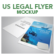Us Legal Flyer Mockup - GraphicRiver Item for Sale