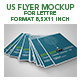 Us Letter Flyer Mockup - GraphicRiver Item for Sale