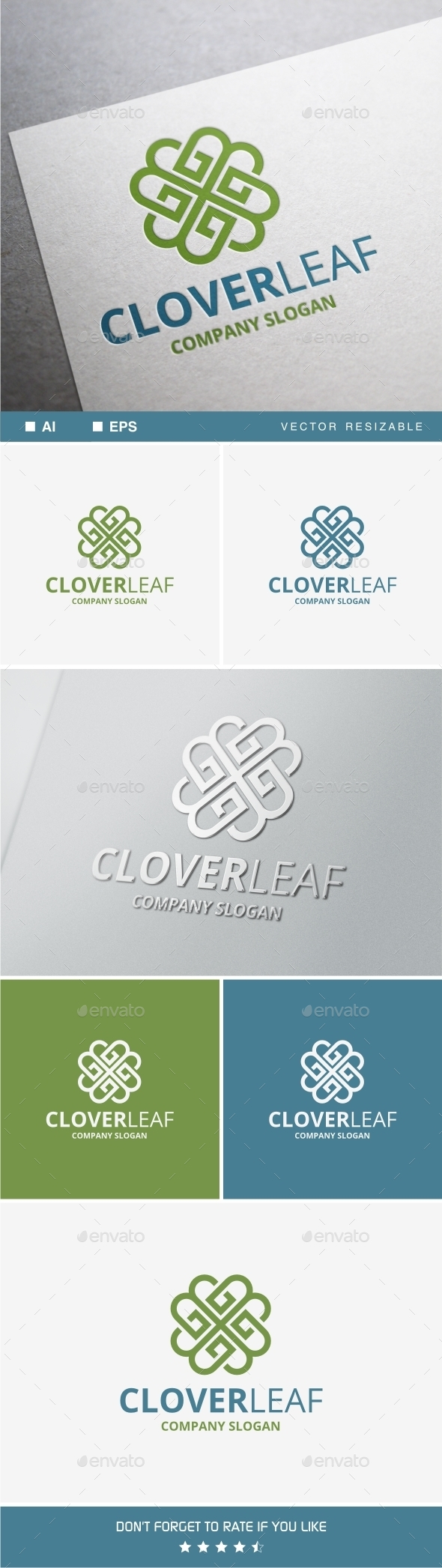 GraphicRiver Clover Leaf 10599342