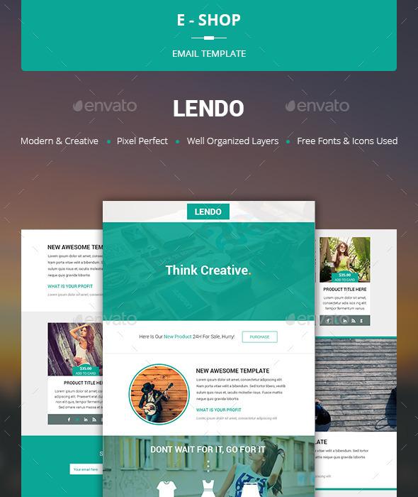 GraphicRiver Lendo E-shop Template 10599347