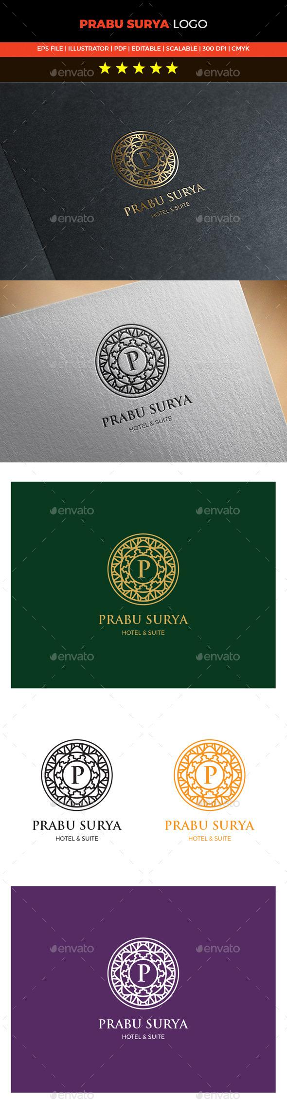 GraphicRiver Prabu Surya Logo 10599404