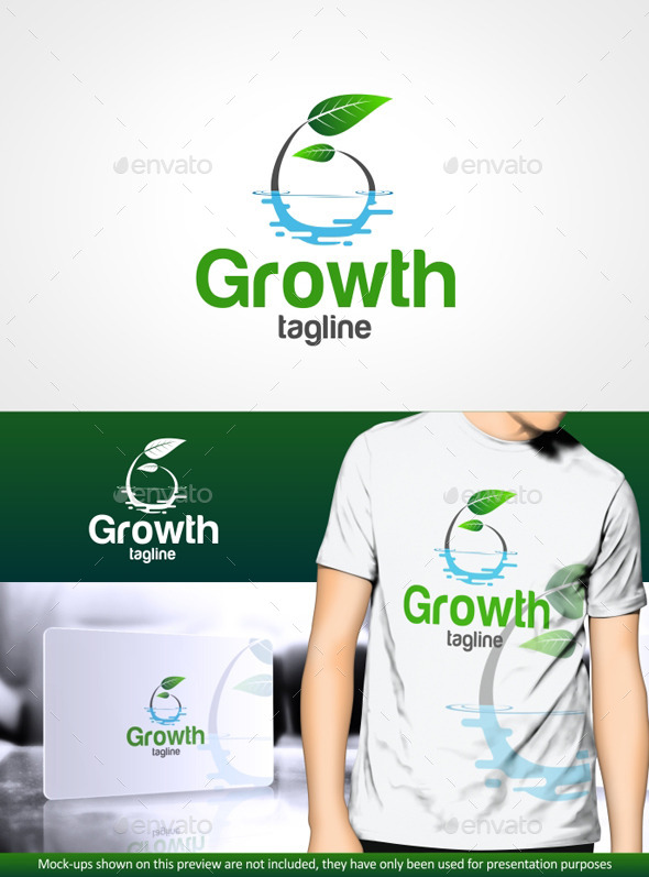 GraphicRiver Growth G letter 10363223