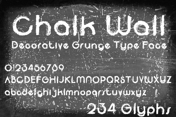 GraphicRiver Chalk Wall 10599678