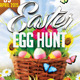 Easter Egg Hunt Flyer + FB Cover - GraphicRiver Item for Sale