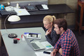 Motivated team at work in the office - PhotoDune Item for Sale