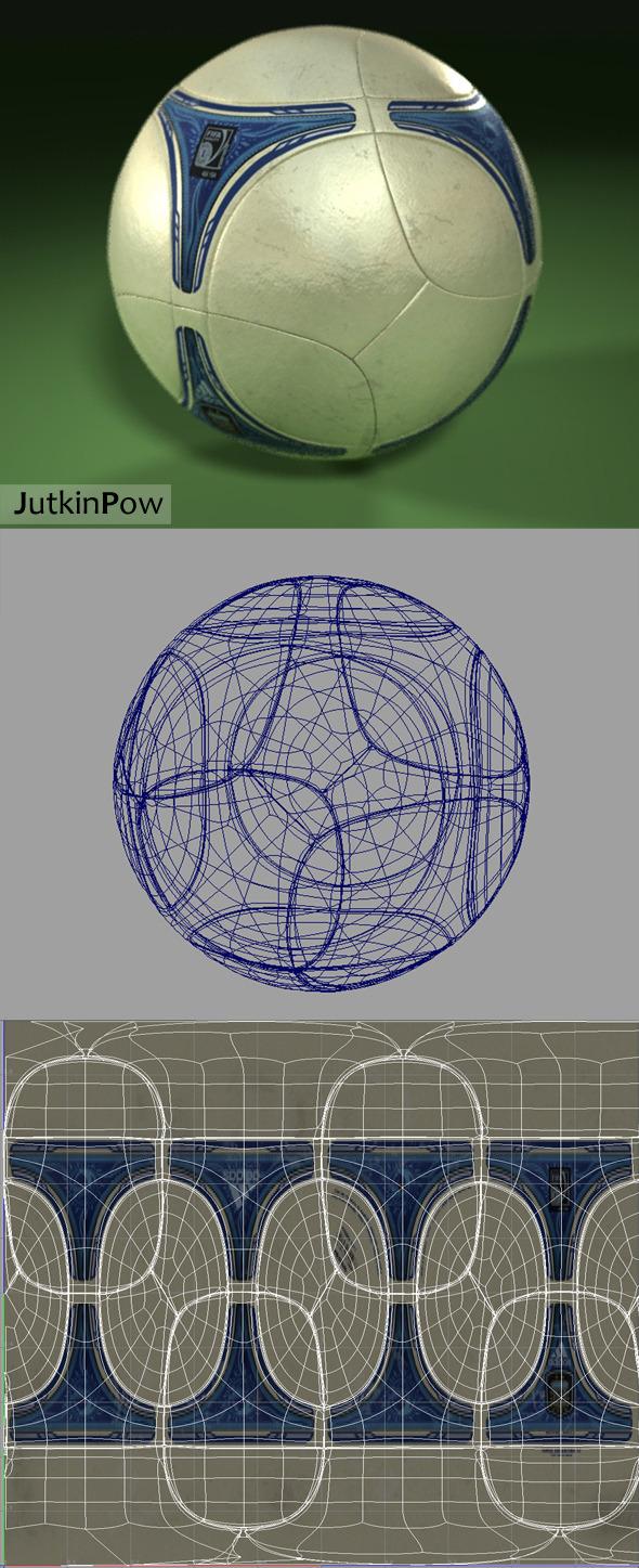 3DOcean Photorealistic Soccer Ball 10599952