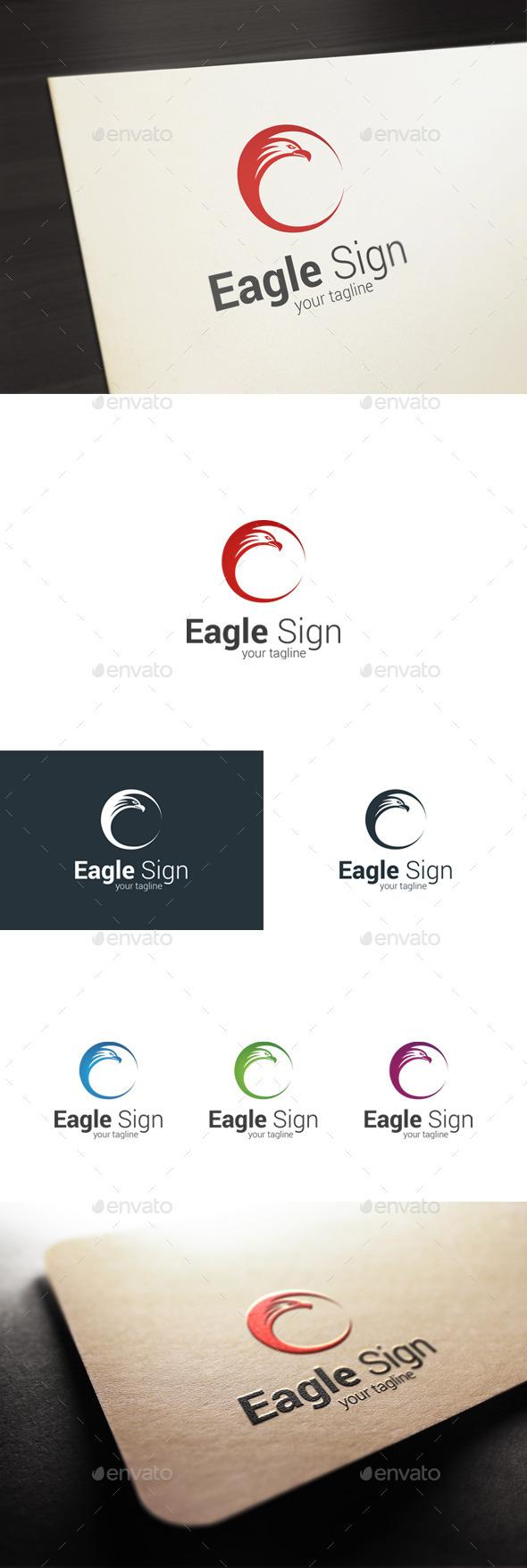 GraphicRiver Eagle Sign Logo 10600002