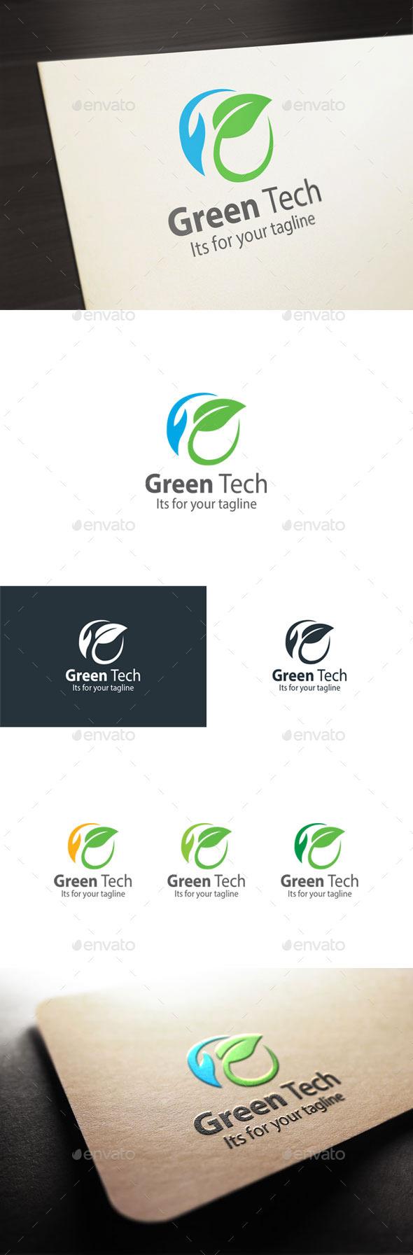 GraphicRiver Green Tech 10600015
