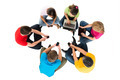 Group Of Friends Using Electronic Devices - PhotoDune Item for Sale