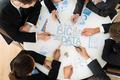 Businesspeople  Planning Bigdata - PhotoDune Item for Sale
