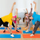 Happy People Exercising At Gym - PhotoDune Item for Sale