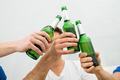 People Toasting Beer Bottles - PhotoDune Item for Sale