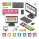 Computer Infographic Design Element - GraphicRiver Item for Sale