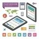 Tablet Infographic Design Element - GraphicRiver Item for Sale