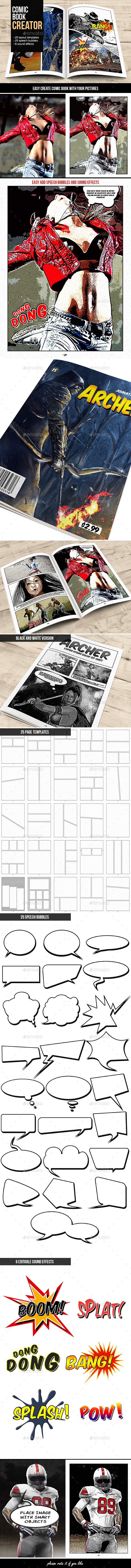 GraphicRiver Comic Book Creator 10600615