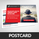 Business Solutions Postcard Template - GraphicRiver Item for Sale