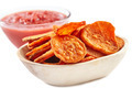 Sweet potatoes chips with tomatoes sauce - PhotoDune Item for Sale