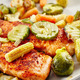 Grilled salmon with vegetables - PhotoDune Item for Sale