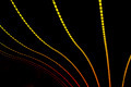 Neon abstract background of lines and bokeh - PhotoDune Item for Sale