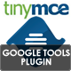 Google Tools Plugin for TinyMCE 4