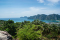 View of the island  Phi Phi Don  from the viewing point,Thailand - PhotoDune Item for Sale