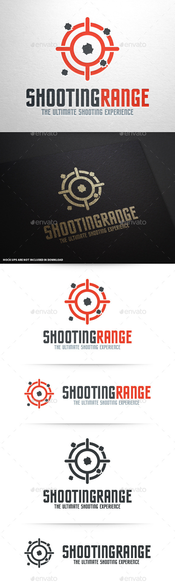 GraphicRiver Shooting Range Logo Template 10601413