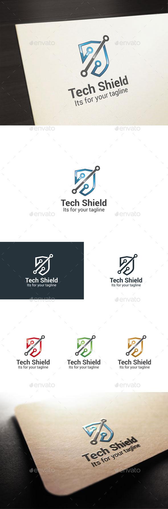 GraphicRiver Tech Shield 10601414