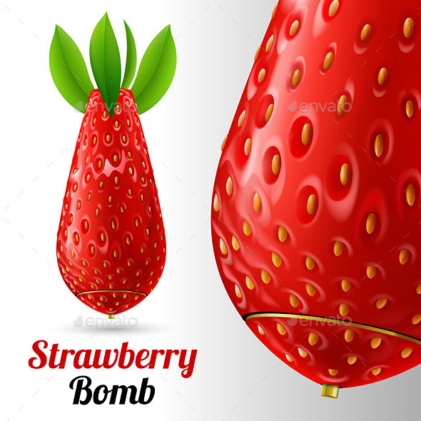 GraphicRiver Strawberry Bomb 10601418