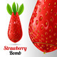 Strawberry Bomb - GraphicRiver Item for Sale
