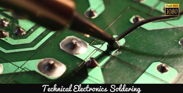 Technical Electronics Soldering 12