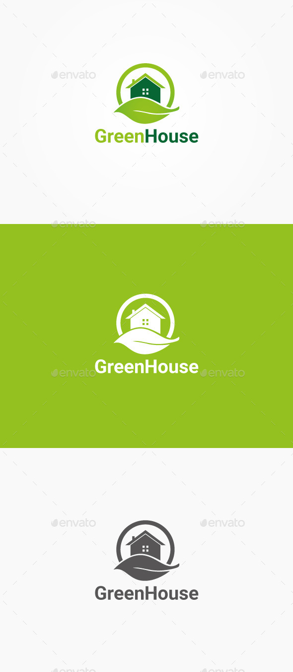GraphicRiver Green House 10601437