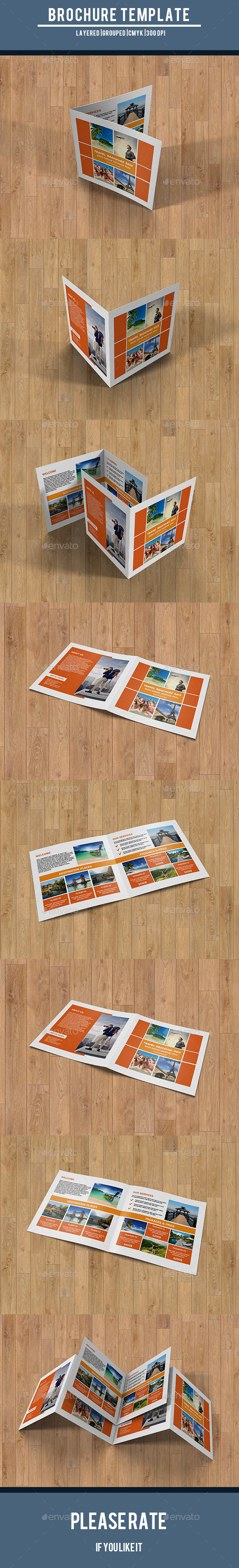 GraphicRiver Travel Square Brochure-V214 10601942