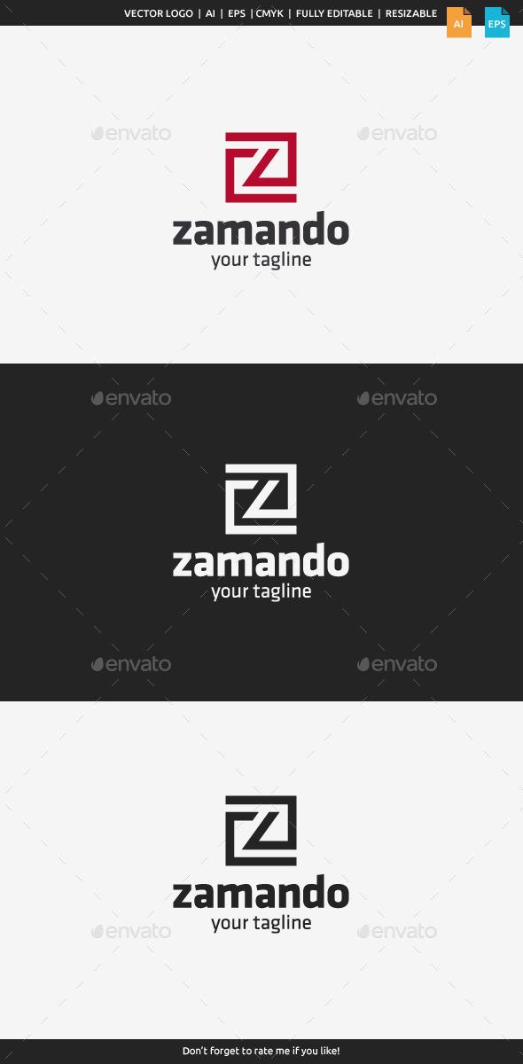GraphicRiver Zamando Letter Z 10602051