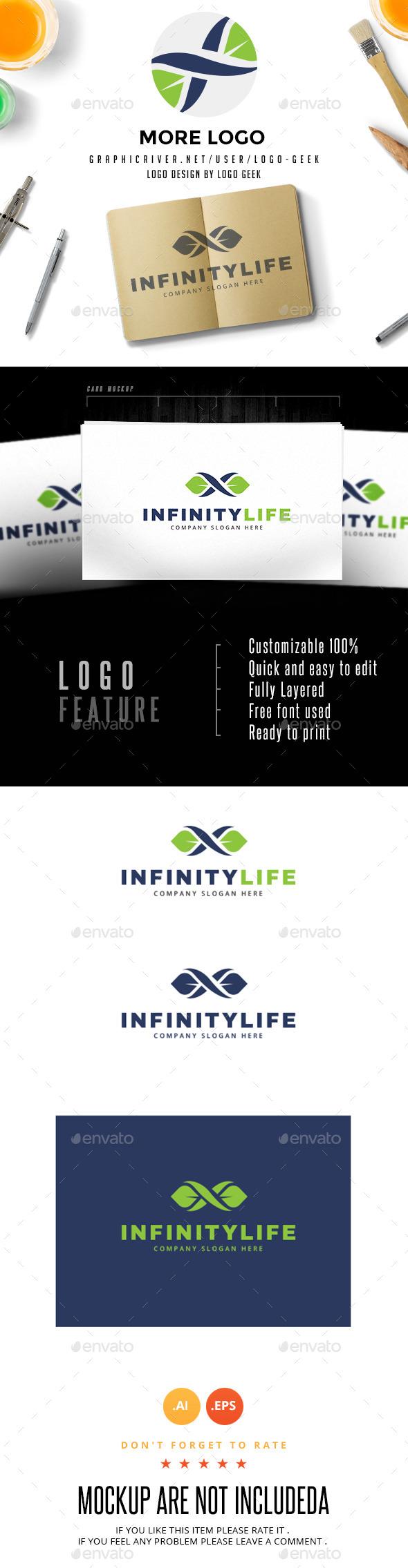 GraphicRiver Infinity Life 10602062