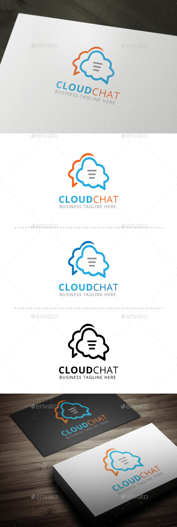 GraphicRiver Cloud Chat 10602111