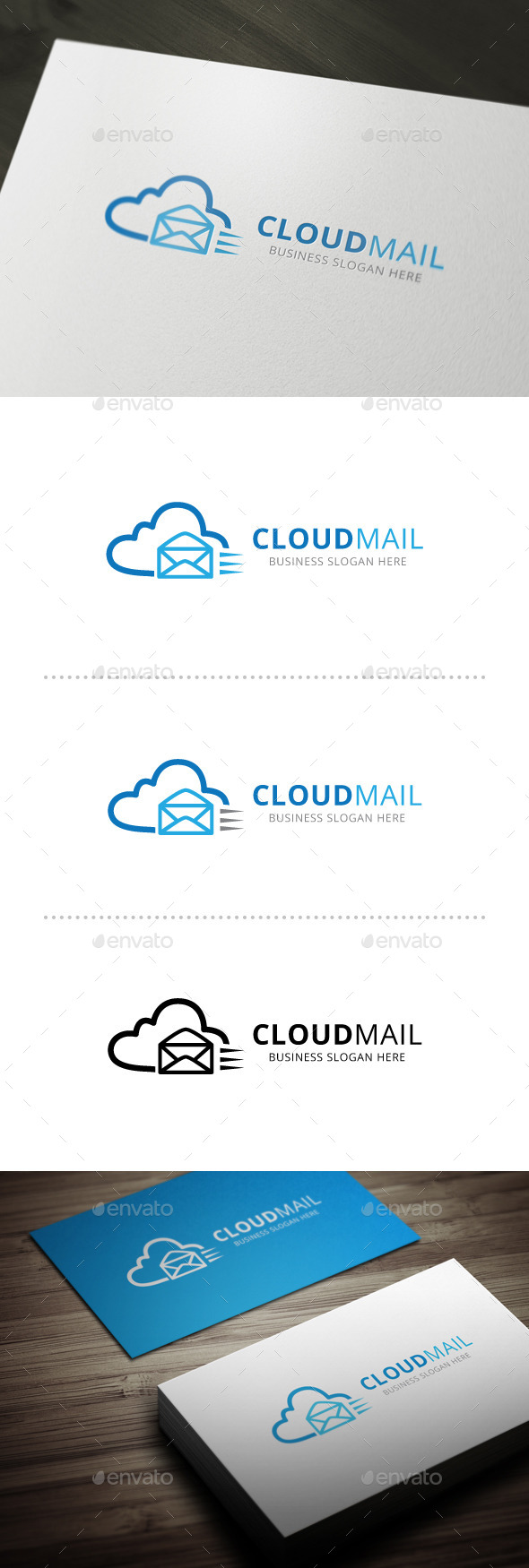 GraphicRiver Cloud Mail 10602131