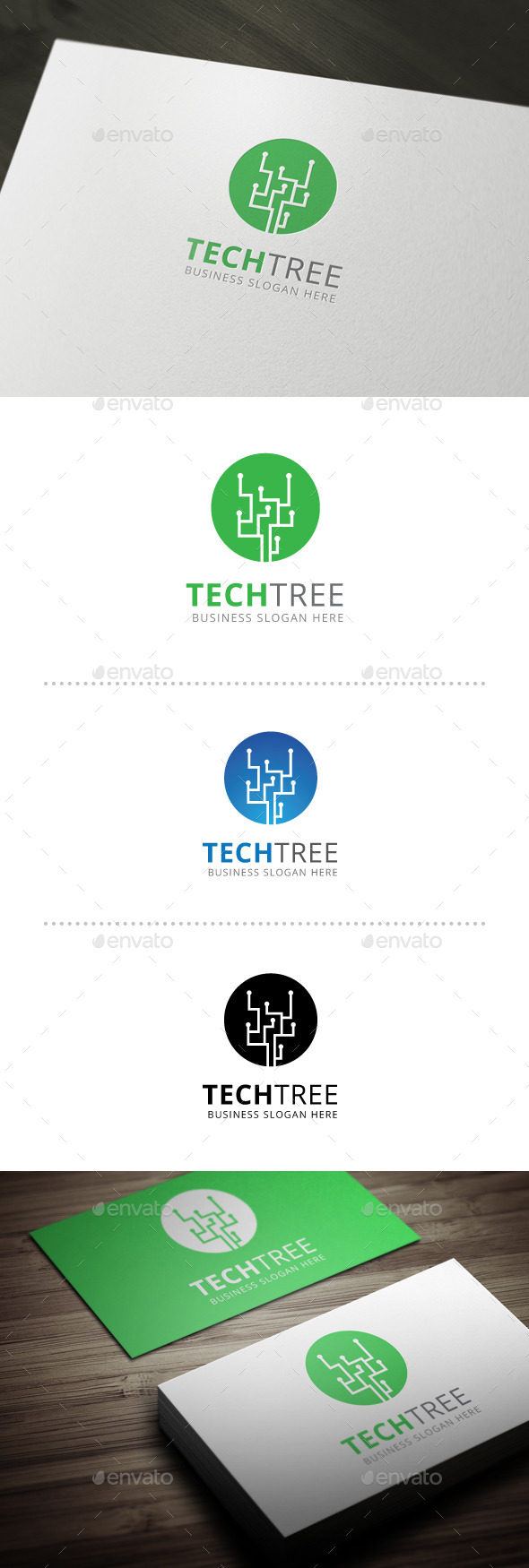 GraphicRiver Tech Tree 10602302