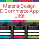 Material Design E-Commerce Ui Kit - GraphicRiver Item for Sale