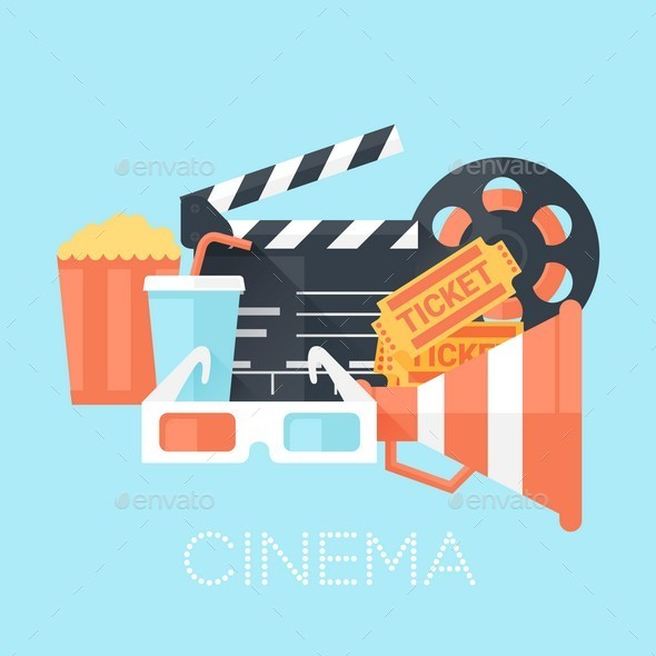 GraphicRiver Cinema Poster 10602632