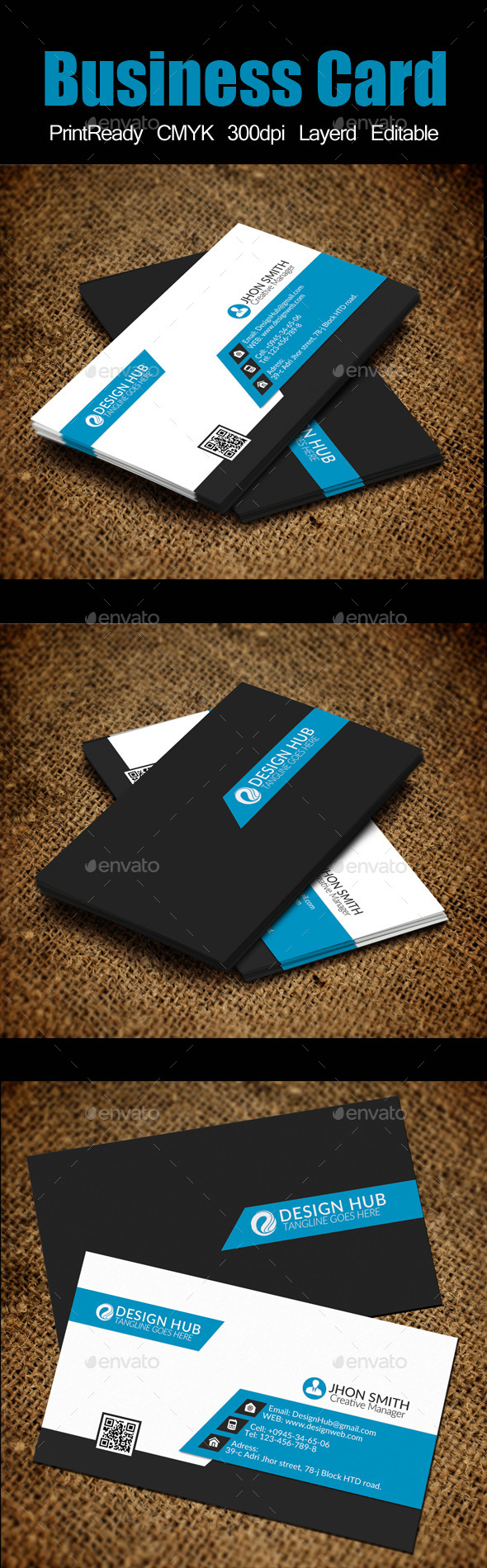 GraphicRiver Business Card Template 10602659
