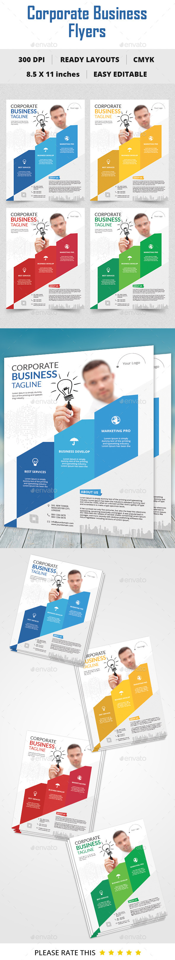 GraphicRiver Corporate Business Flyer 10508501